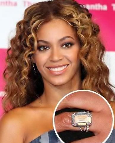 Diamond Engagement Rings Beyonce