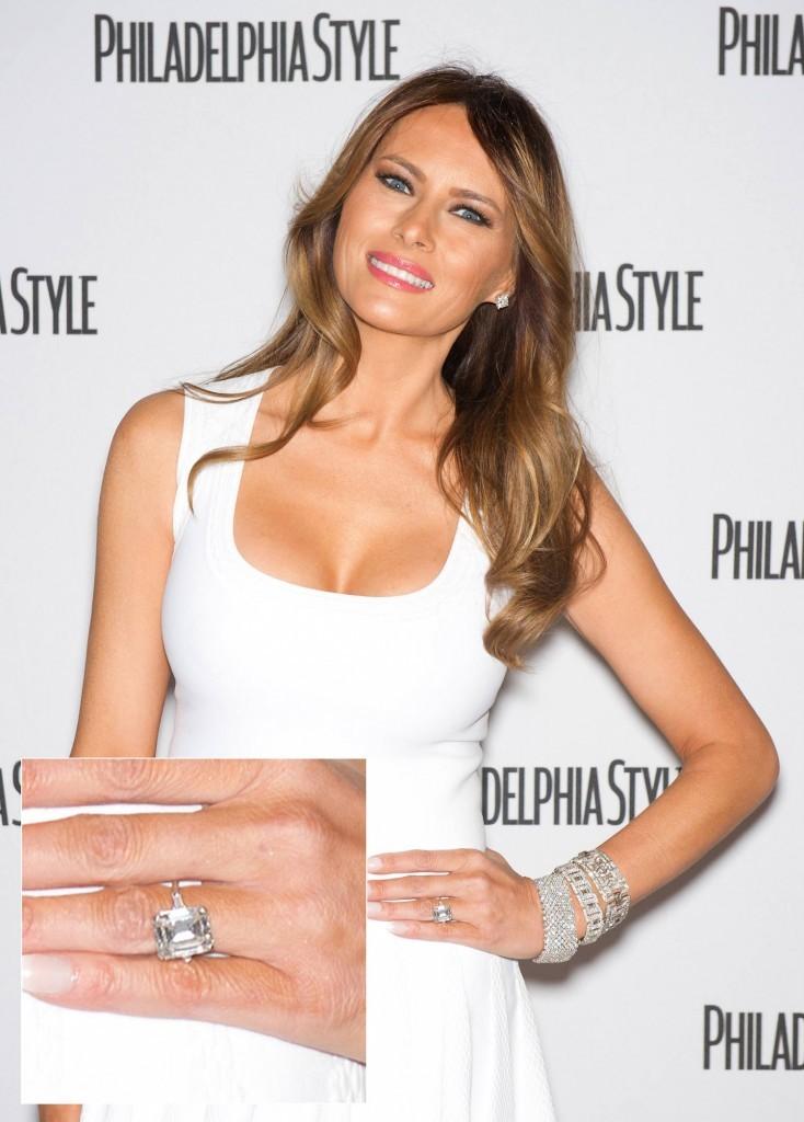 Diamond Engagement Rings Melania Knauss