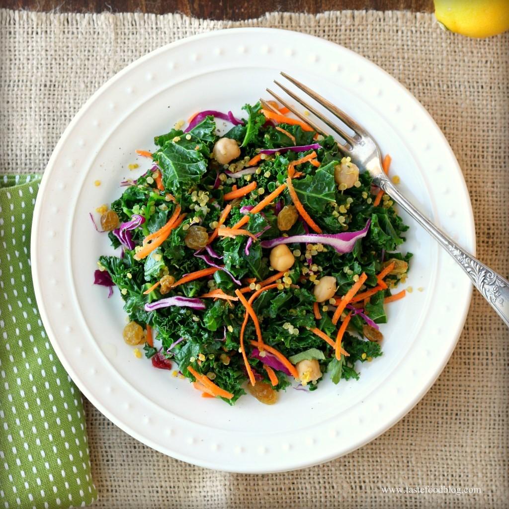 Quinoa Salad with a Citrus Flavor