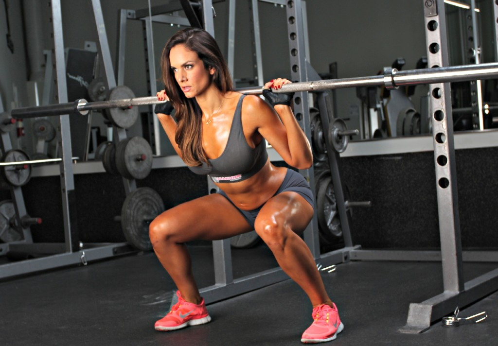 squat woman