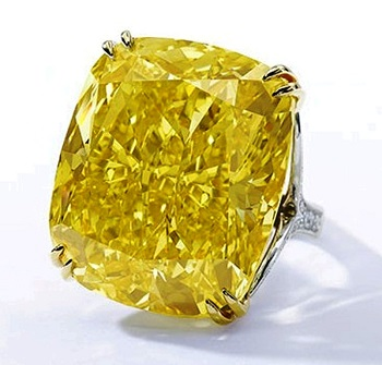 100.09 carat Graff Vivid Yellow