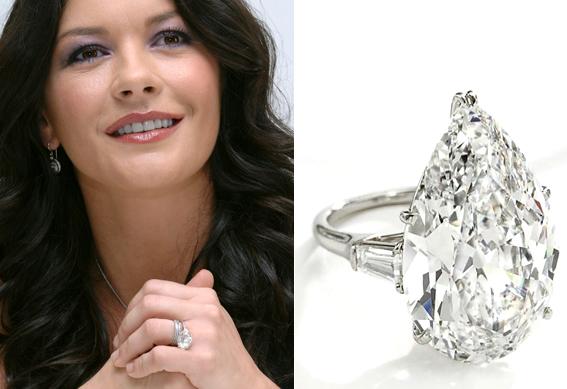 Picture Of Catherine Zeta Jones Wedding Ring